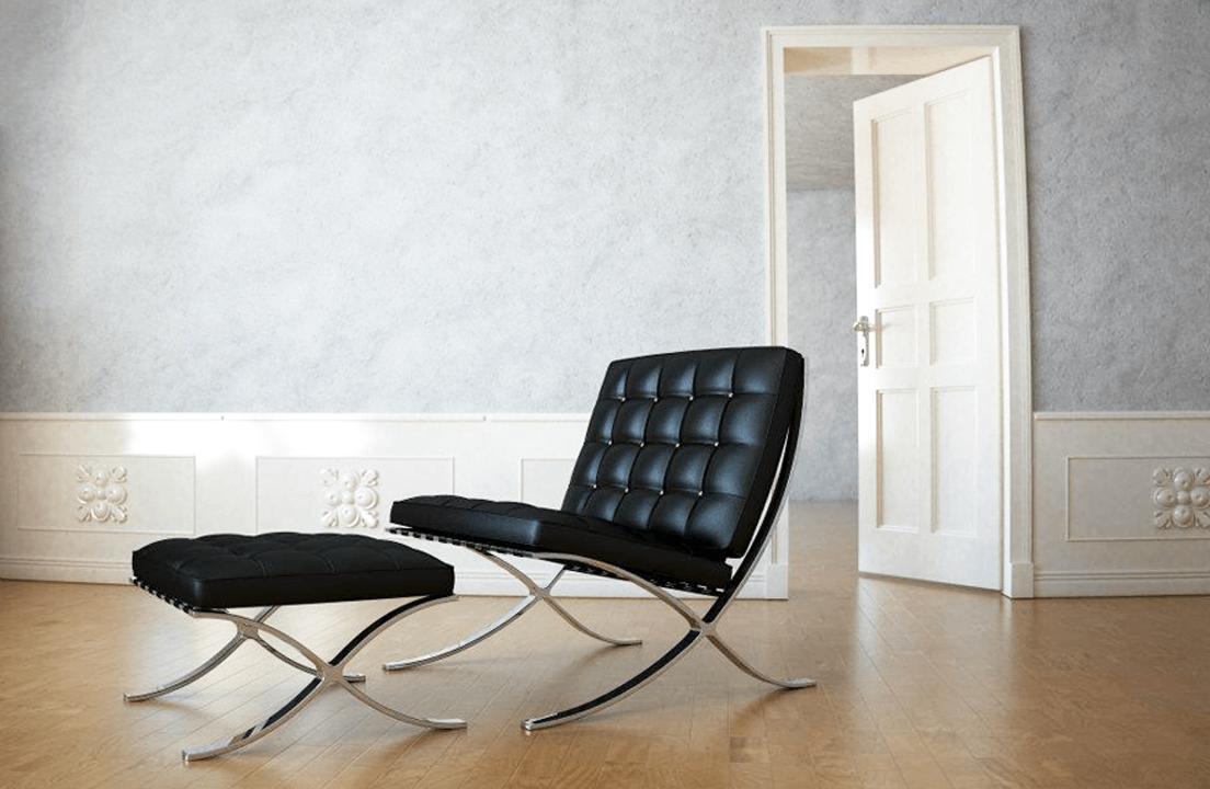 bauhaus sessel klassiker kaminsessel bauhaus design leder. Black Bedroom Furniture Sets. Home Design Ideas