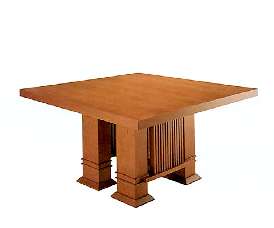 I i frank lloyd wright esstisch 1 999 made in italy for Esstisch italian design