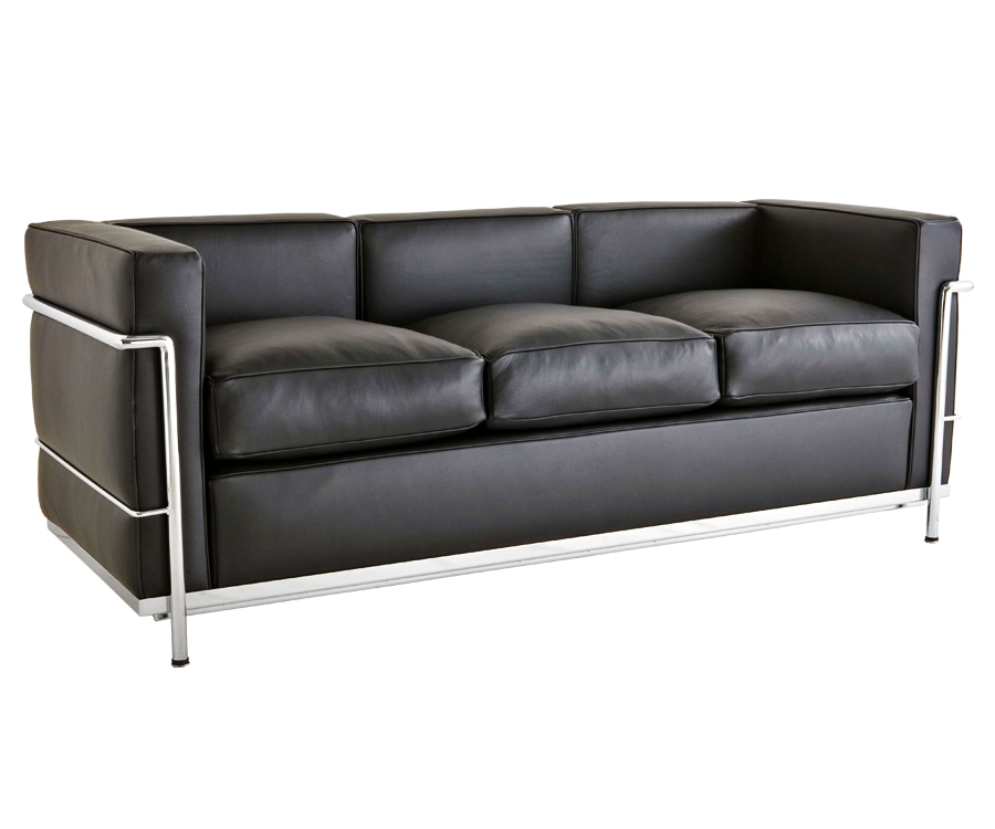 I I Le Corbusier Lc2 Sofa 3 Sitzer 1 790 Made In Italy