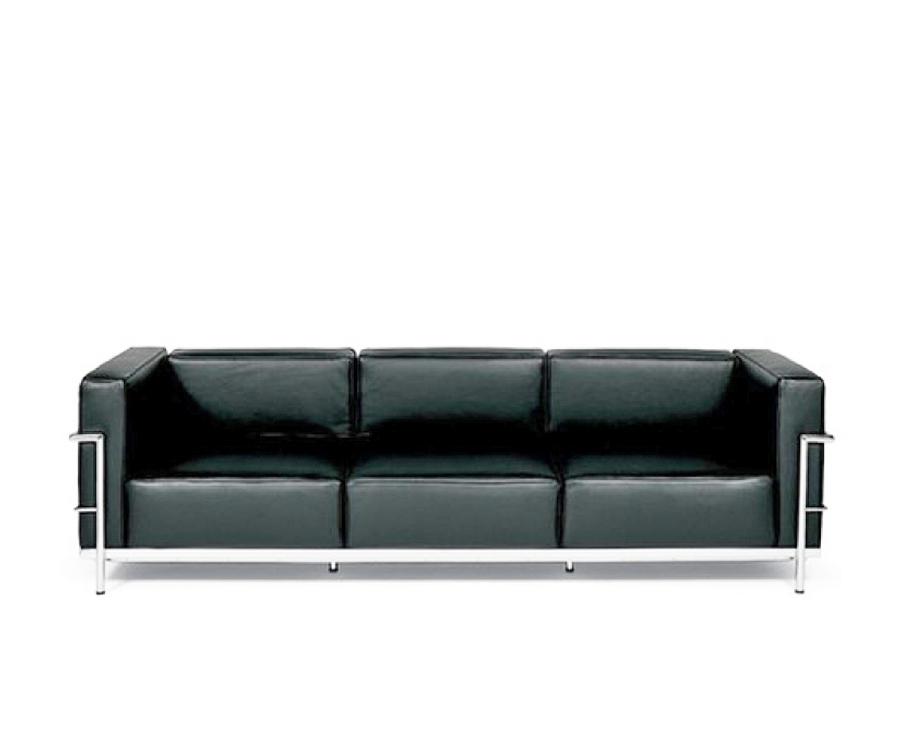 I❶i Le Corbusier Lc3 Sofa 3 Sitzer 2450 Made In Italy