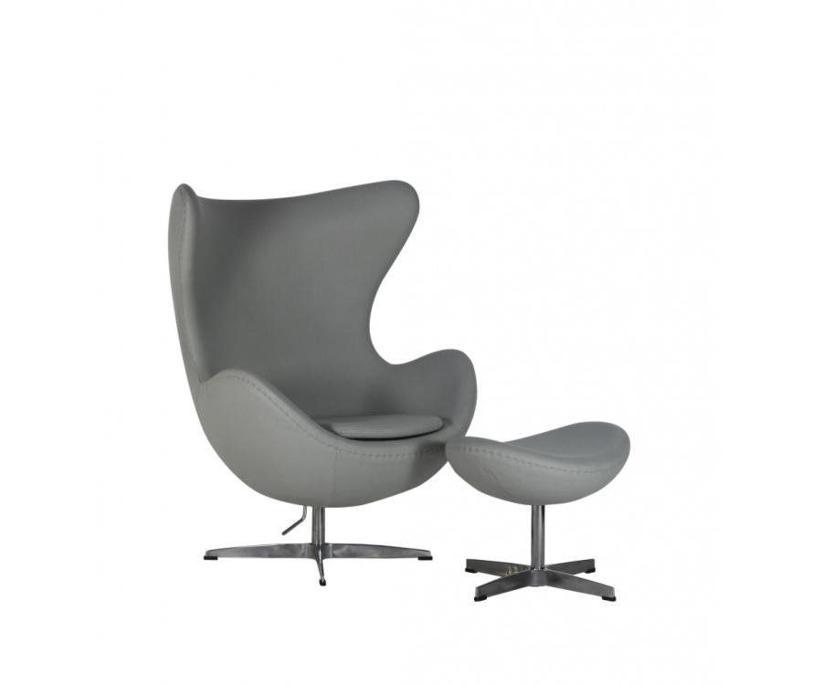 i i arne jacobsen egg chair das ei 2 199 made in italy. Black Bedroom Furniture Sets. Home Design Ideas