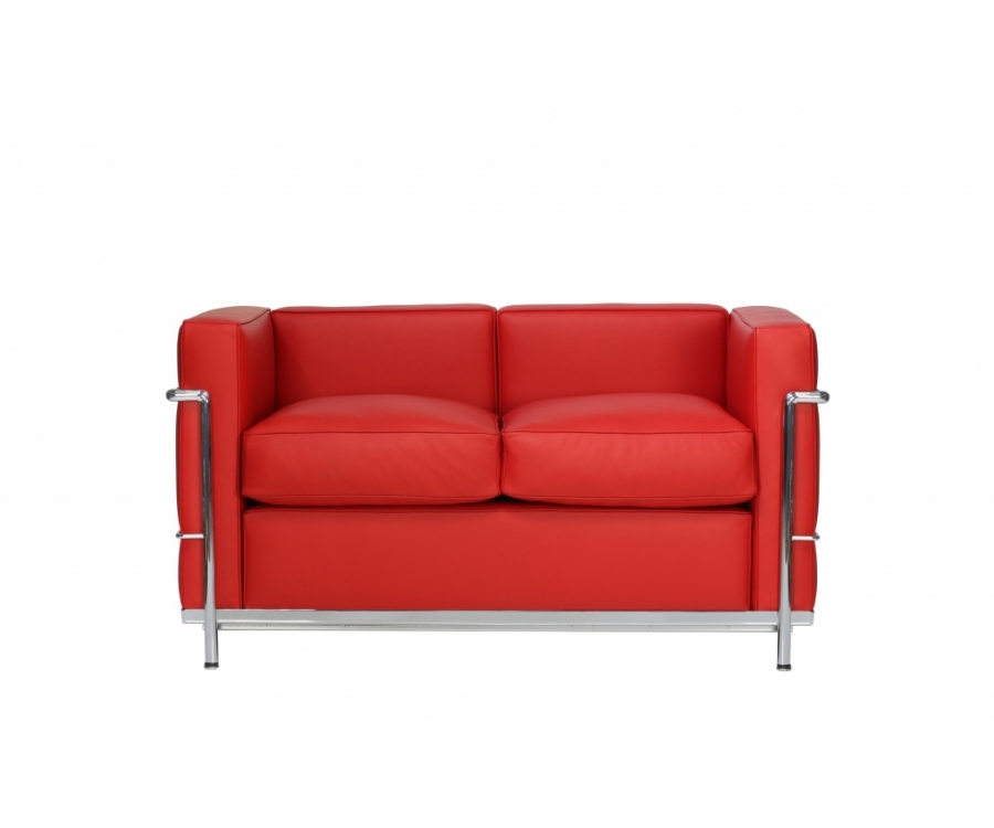 LC2 Sofa 2- in Leather
