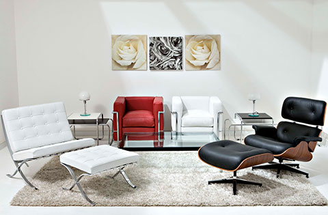 I❶i Charles Eames Lounge Chair 259 Made In Italy