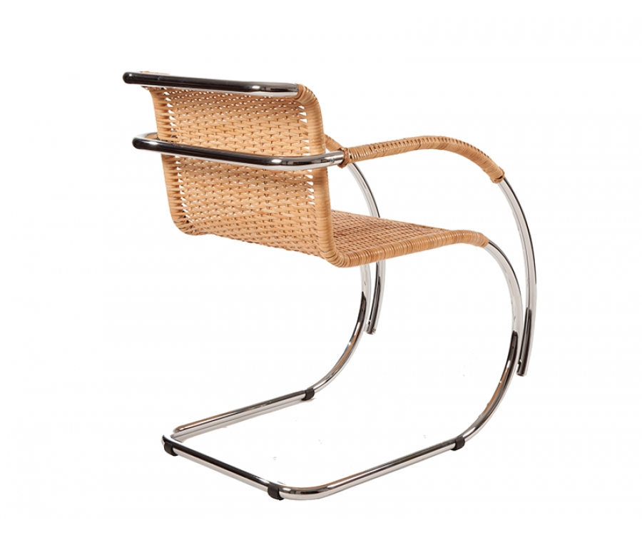 i i mies van der rohe mr20 freischwinger geflecht 379 made in italy. Black Bedroom Furniture Sets. Home Design Ideas