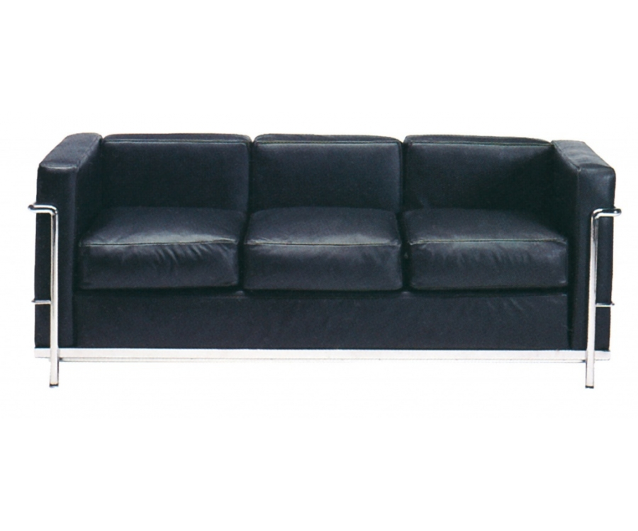 I❶I Le Corbusier LC2 Sofa 3-Sitzer - 1,790 € - Made in Italy