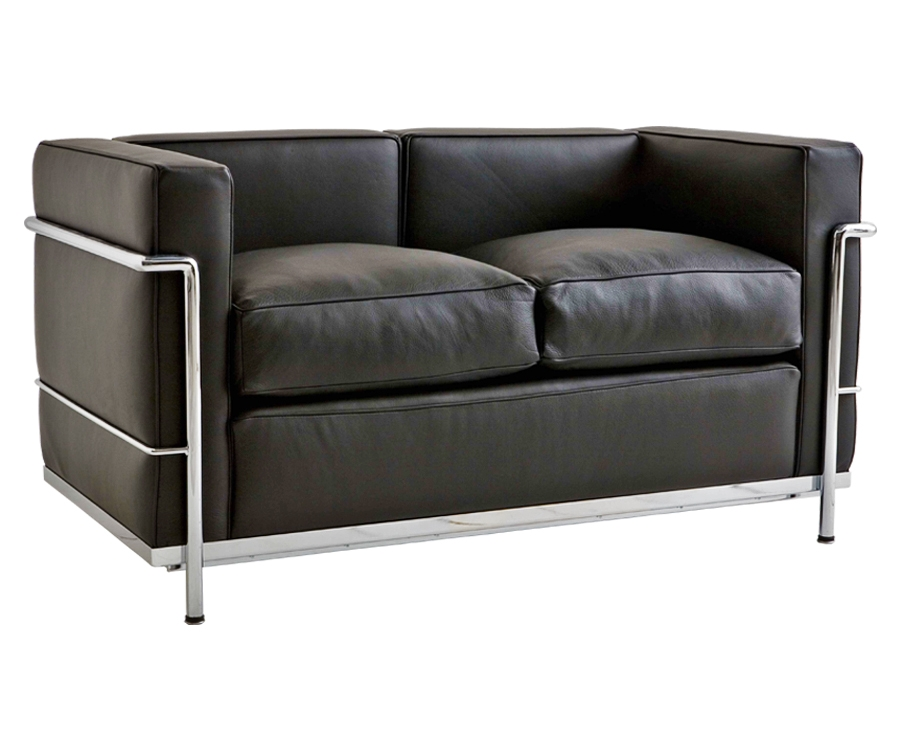 I❶I Le Corbusier LC2 Sofa 2-Sitzer - 1,450 € - Made in Italy