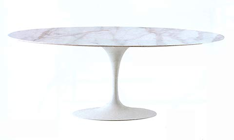 I i eero saarinen 173 tisch 1 499 made in italy for Designer esstisch oval
