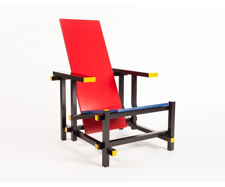 Stuhl zeichnung  I❶I Gerrit Rietveld Rot und Blau Stuhl (Rood-blauwe) - 669 ...