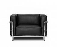 i i le corbusier lc2 sessel 950 made in italy. Black Bedroom Furniture Sets. Home Design Ideas